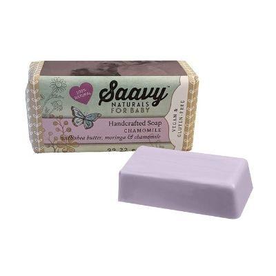 Baby Chamomile 3.Saavy Naturals Baby Bar Soap