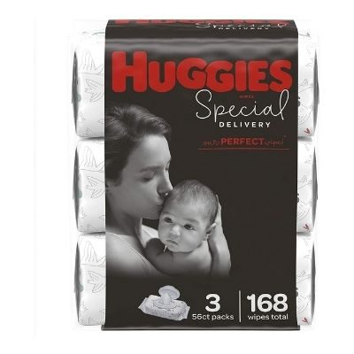 Huggies Special Delivery Hypoallergenic Baby Wipes